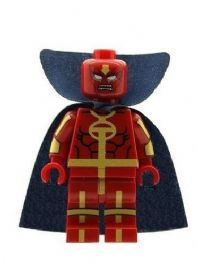 Red Tornado From Justice League - Custom Designed Minifigure